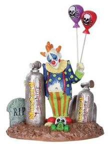 32103 - Balloon Clown  - Lemax Spooky Town Halloween Village Figurines