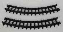 34686 - 2-Piece Curved Track For Christmas Express  - Lemax Christmas Village Trains & Vehicles