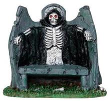 34608 - Reaper Bench  - Lemax Spooky Town Halloween Village Accessories