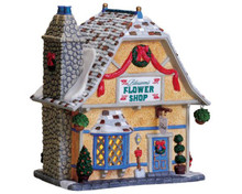 75547 - Blossom's Flower Shop - Lemax Vail Village Christmas Houses & Buildings
