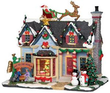 25337 - Best Decorated House, with 4.5v Adaptor  - Lemax Harvest Crossing Christmas Houses & Buildings
