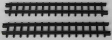34685 - 2-Piece Straight Track For Christmas Express  - Lemax Christmas Village Trains & Vehicles