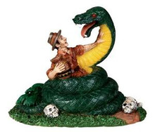 02771 - Snake in the Grass - Lemax Spooky Town Figurines