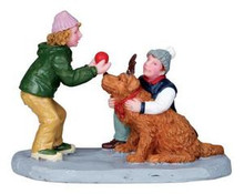 02831 - Rover As Rudolph -  Lemax Christmas Figurines