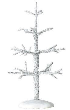 """04483 -  6"""" Frosted Tree -  Lemax Christmas Village Trees"""