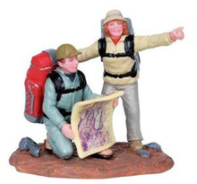 02824 - Trail Map -  Lemax Christmas Figurines