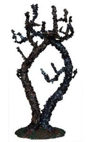 04195 - Double Lichen-Covered Tree - Lemax Spooky Town Accessories