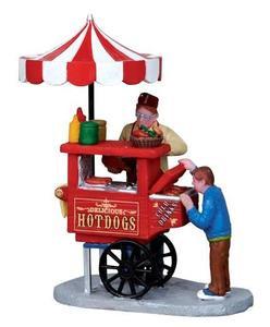 12932 - Hot Dog Cart - Lemax Christmas Village Figurines