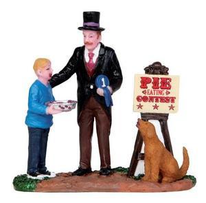 12922 - Pie Chomping Champ - Lemax Christmas Village Figurines