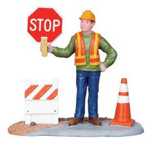 12898 - Construction Work - Lemax Christmas Village Figurines