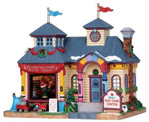 15222 - Holly's Day Care Center - Lemax Harvest Crossing Christmas Houses & Buildings