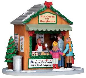 13906 - Hot Cocoa Stand - Lemax Christmas Village Table Pieces