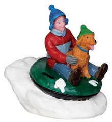 22057 - Tubing Buddies  - Lemax Christmas Village Figurines