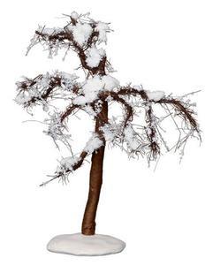 14375 - Winter Cypress Tree, Medium - Lemax Christmas Village Trees