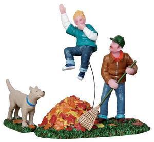 22020 - Geronimo!, Set of 2  - Lemax Christmas Village Figurines