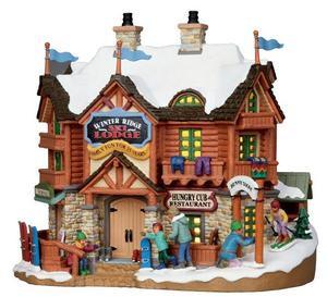 15221 - Winter Ridge Ski Lodge  - Lemax Vail Village Christmas Houses & Buildings