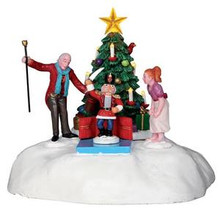 24478 - Clara's Gift, Battery-Operated (4.5v)  - Lemax Christmas Village Table Pieces