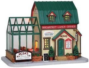 25380 - Rosa's Family Restaurant  - Lemax Harvest Crossing Christmas Houses & Buildings