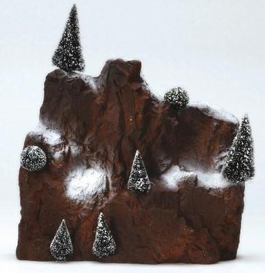 81013 -  Small Village Mountain Backdrop - Lemax Christmas Village Landscape Items