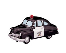 84833 -  Police Squad Car - Lemax Trains & Vehicles;Lemax Misc. Accessories