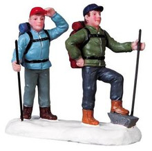 92632 -  Hikers - Lemax Christmas Village Figurines