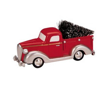 84837 -  Pick-Up Truck - Lemax Trains & Vehicles;Lemax Misc. Accessories