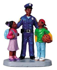 92626 -  To Protect and Serve - Lemax Christmas Village Figurines