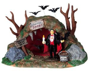 93724 -  Bat Lair - Lemax Spooky Town Halloween Village Accessories