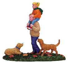 72410 -  Piggyback Ride - Lemax Christmas Village Figurines