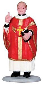 32125 - Priest Blessing  - Lemax Christmas Village Figurines