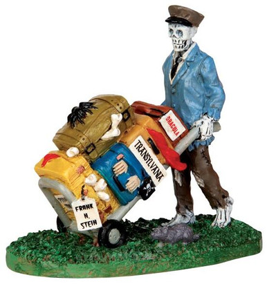 42203 - Scary Luggage  - Lemax Spooky Town Halloween Village Figurines