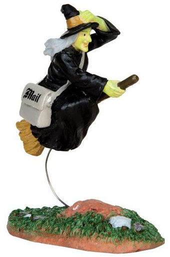 42208 - Air Mail  - Lemax Spooky Town Halloween Village Figurines