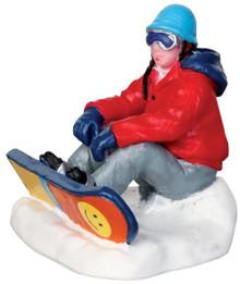 42221 - Snowboarding Breather  - Lemax Christmas Village Figurines