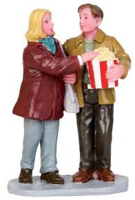 42228 - Movie Night  - Lemax Christmas Village Figurines
