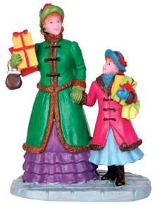 42257 - Christmas Shopping  - Lemax Christmas Village Figurines