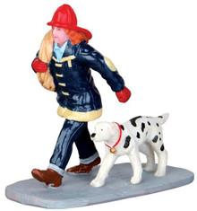 42262 - Saving the Day  - Lemax Christmas Village Figurines
