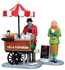 42263 - Winter Refreshments, Set of 2  - Lemax Christmas Village Figurines