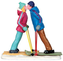 42269 - First Ski Date  - Lemax Christmas Village Figurines