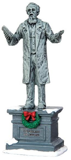 44759 - Dickens Statue - Lemax Christmas Village Misc. Accessories