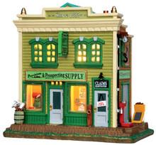 45683 - Ringler's Assaying  - Lemax Harvest Crossing Christmas Houses & Buildings
