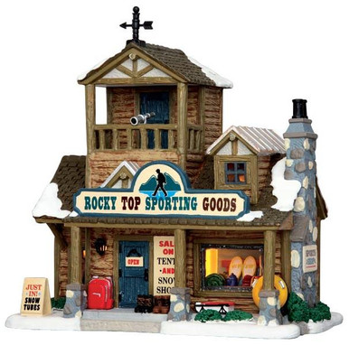 45695 - Rocky Top Sporting Goods  - Lemax Vail Village Christmas Houses & Buildings