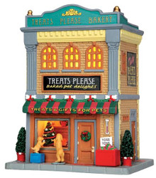 45698 - Treats Please Bakery  - Lemax Caddington Village Christmas Houses & Buildings
