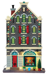 45733 - Magriet's Flowers, Battery-Operated (4.5v)  - Lemax Christmas Village Facades