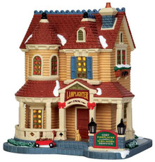 45748 - Lamplighter Inn  - Lemax Harvest Crossing Christmas Houses & Buildings