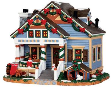 45749 - Hermosa House  - Lemax Caddington Village Christmas Houses & Buildings