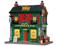 35600 - O' Connell's Irish Pub - Lemax Caddington Village Christmas Houses & Buildings