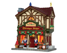 45742 - Fezziwig's Christmas Shoppe - Lemax Caddington Village Christmas Houses & Buildings