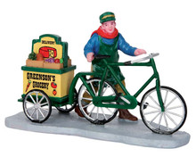 52359 - Greenson's Grocery Delivery - Lemax Christmas Figurines