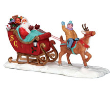 53210 - Santa's Sleigh - Lemax Christmas Village Table Pieces