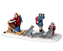 53225 - North Pole or Bust - Lemax Christmas Village Table Pieces